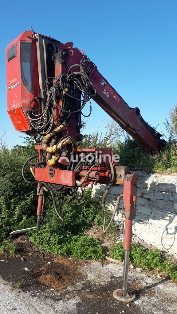 Jonsered timber crane loader crane