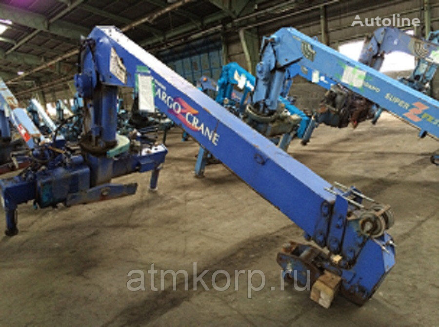 TADANO Cargo Crane KMU gruz 3 tn strela 4 vylet loader crane