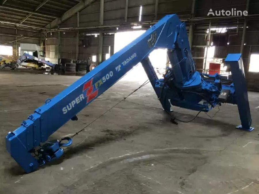 TADANO FX500 loader crane