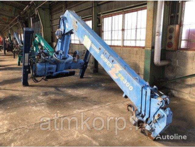 TADANO ZF305SL loader crane