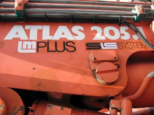 ATLAS-205.1 (Geramaniya) loader crane