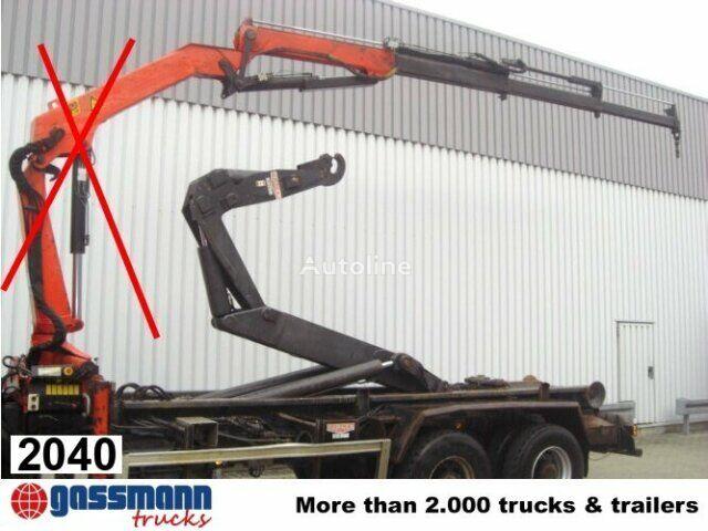 Abroller loader crane
