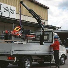new HIAB 022 T loader crane