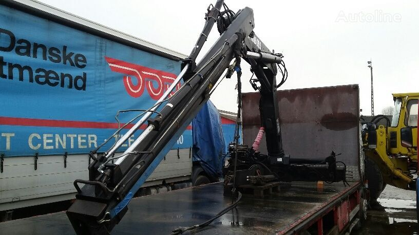 HIAB 095 remote damaged loader crane