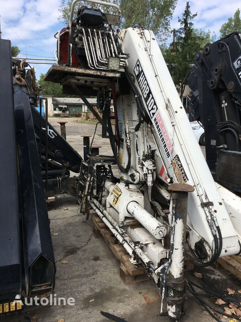 HIAB 102 loader crane