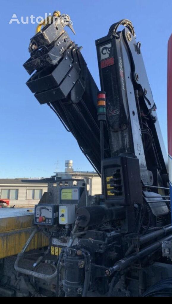 HIAB 144-4 hiduo radio + 4 extension loader crane