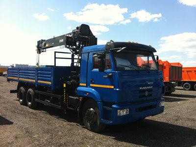 new HIAB 190 T loader crane
