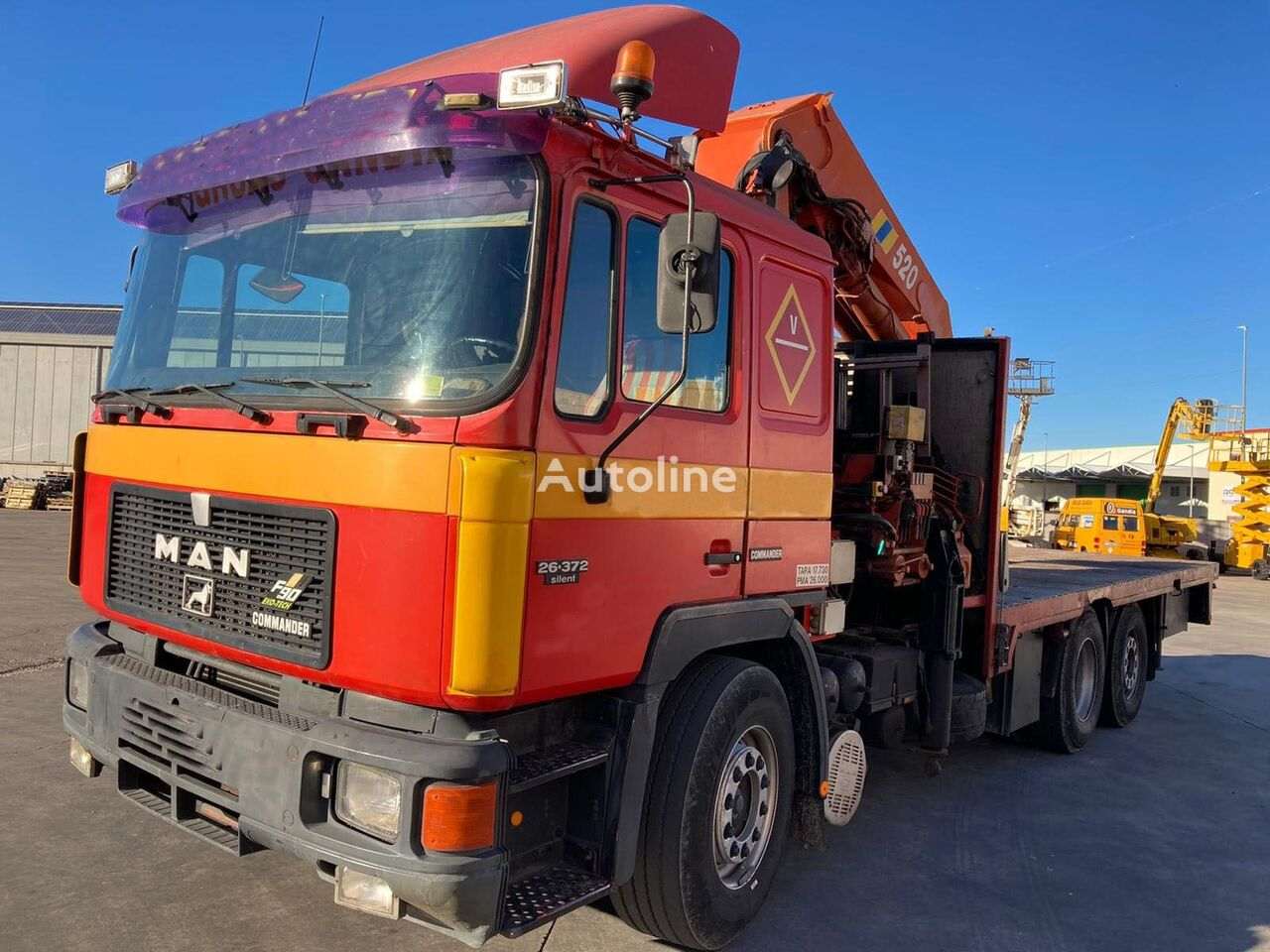 HIAB 520 loader crane