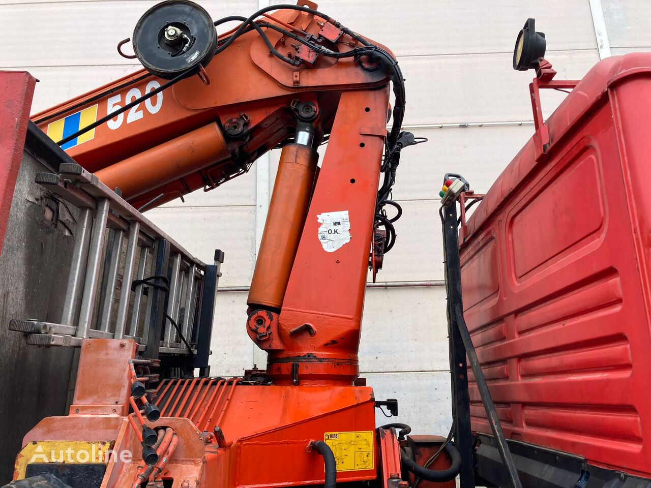 HIAB 520-5 loader crane