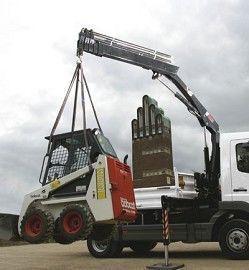 new HIAB XS 055 loader crane