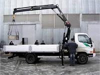 new HIAB XS 077 loader crane