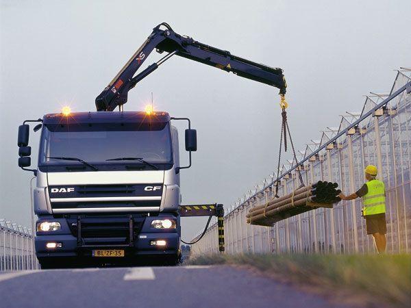 new HIAB XS 111 loader crane