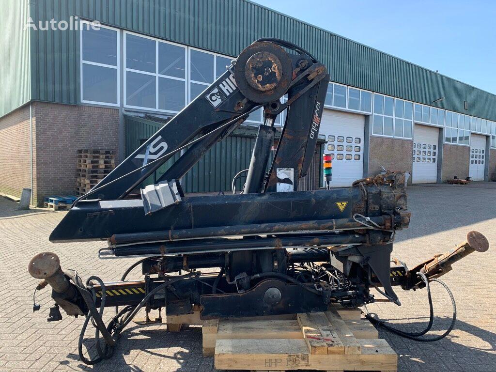 HIAB XS 122E-3 HiDuo + Remote control loader crane