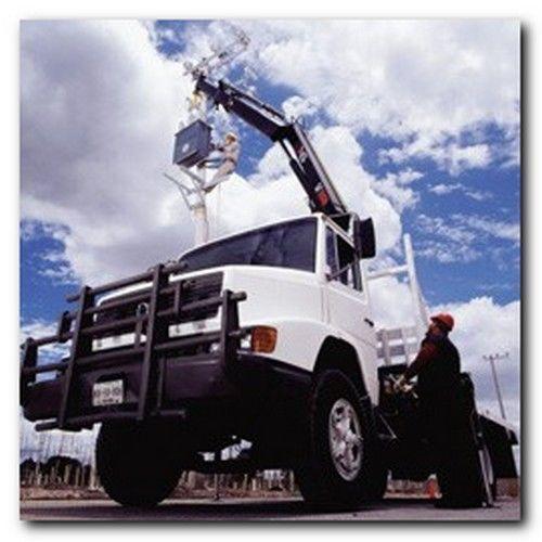 new HIAB XS 144 loader crane