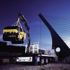 new HIAB XS 166 loader crane