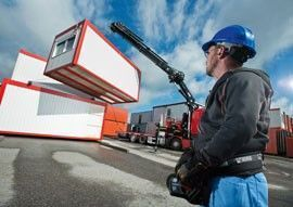 new HIAB XS 544 loader crane
