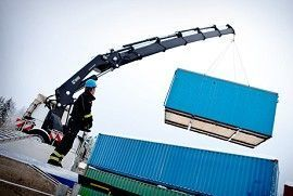 new HIAB XS 622 loader crane