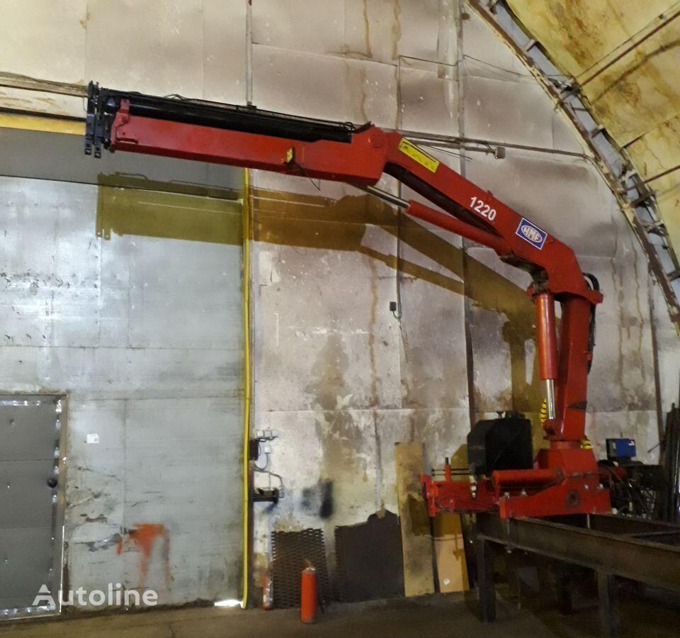 HMF 1220 K3 loader crane