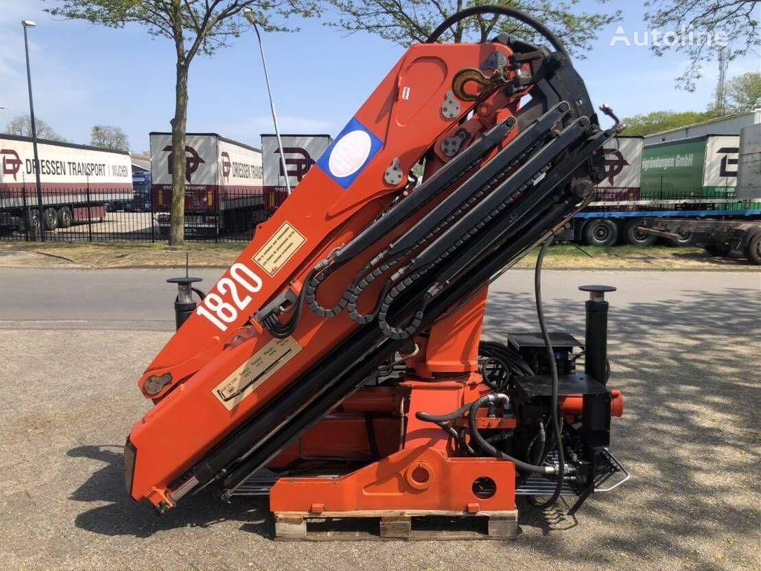 HMF 1820 loader crane