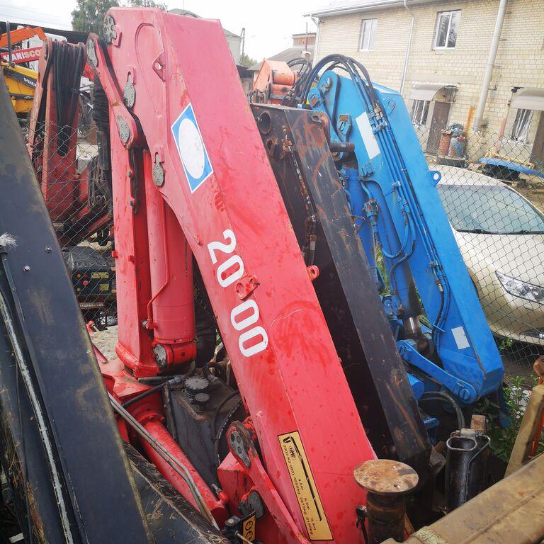 HMF 200 loader crane