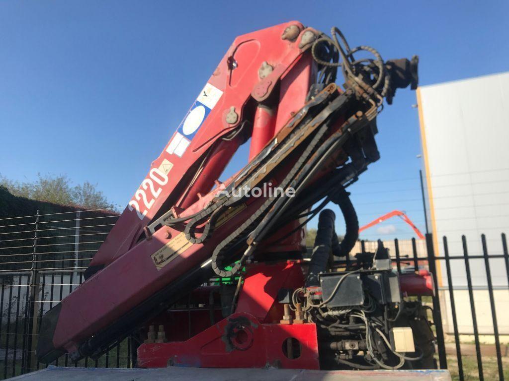 HMF 2220 K 2 loader crane
