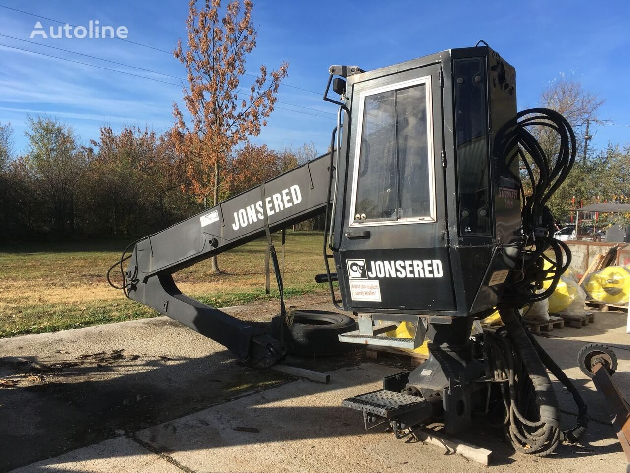 Jonsered 1820 loader crane
