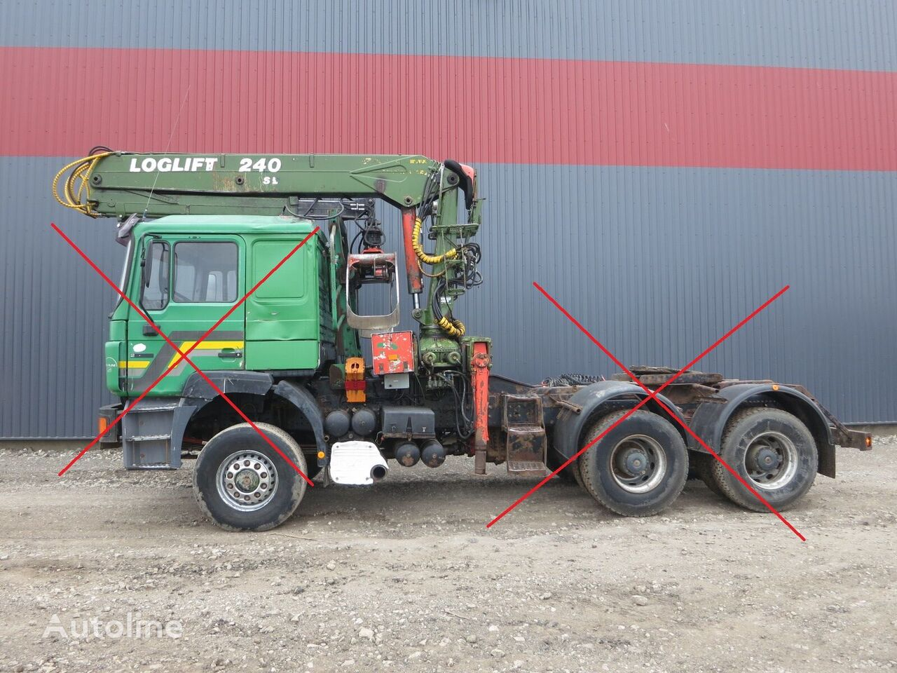 LOGLIFT 240 SL loader crane