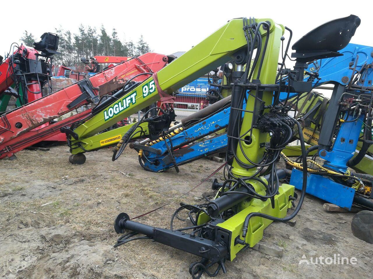 LOGLIFT 95 L do drewna loader crane