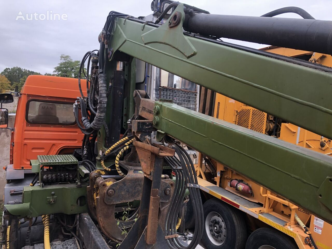 LOGLIFT 96ST loader crane