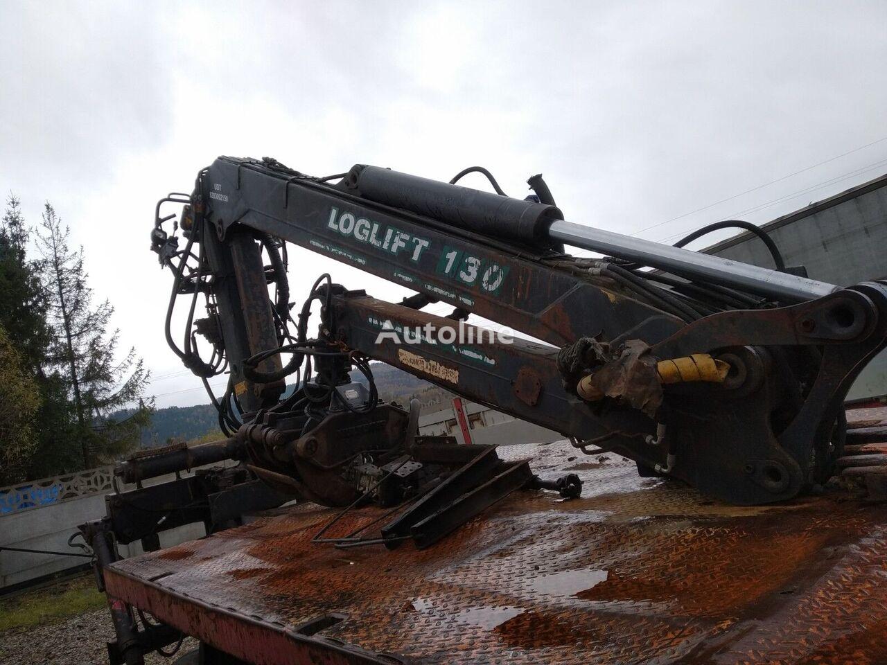 LOGLIFT E 130 s loader crane