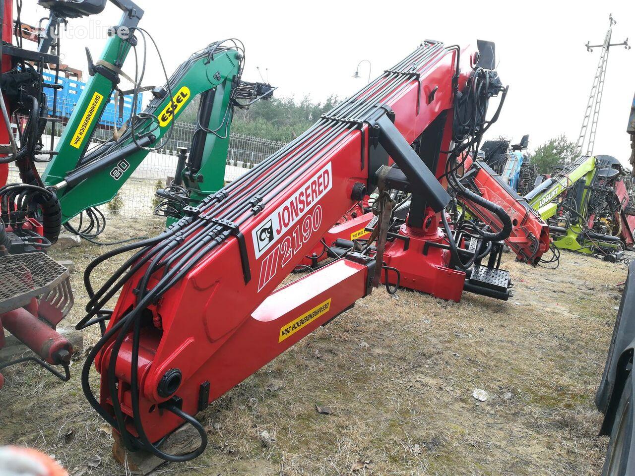 LOGLIFT JONSERED 2190 do drewna loader crane