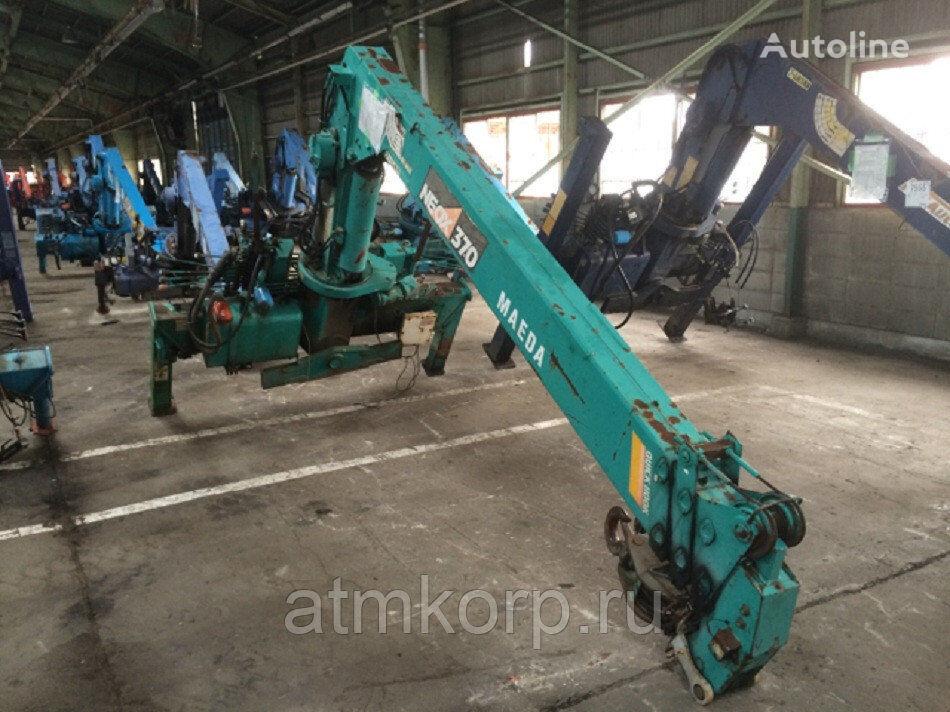 MAEDA CRANE NEOX 374 loader crane