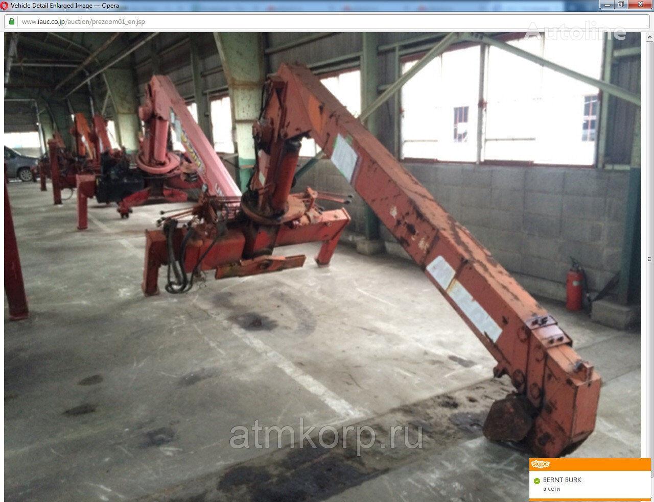 MAEDA Crane MC373 loader crane