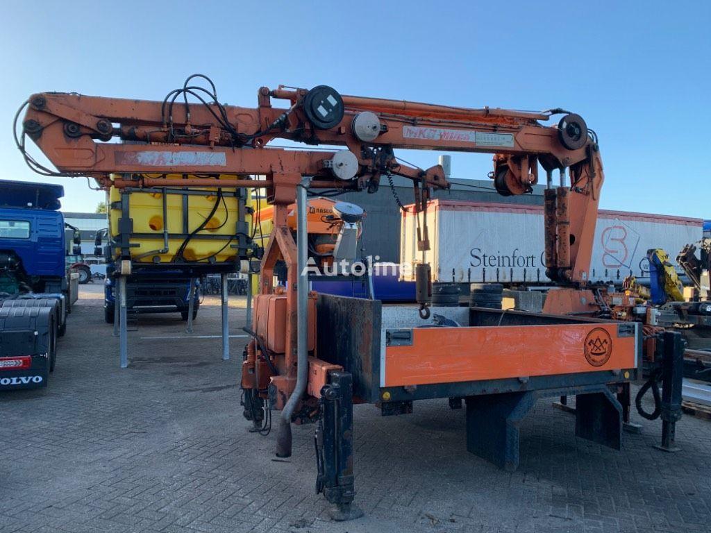 MKG HMK130 TA2A2 (bis 20m!) loader crane