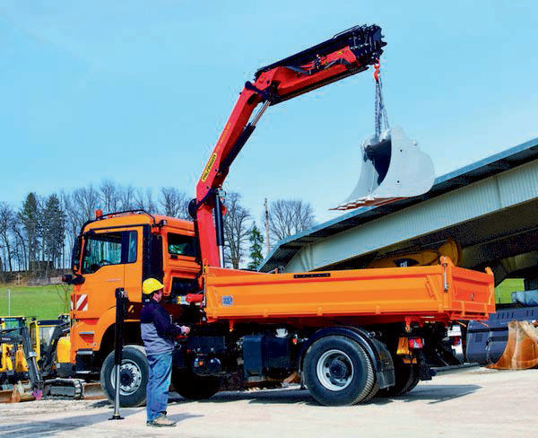 new PALFINGER PK 14002-EH High Perfomance loader crane