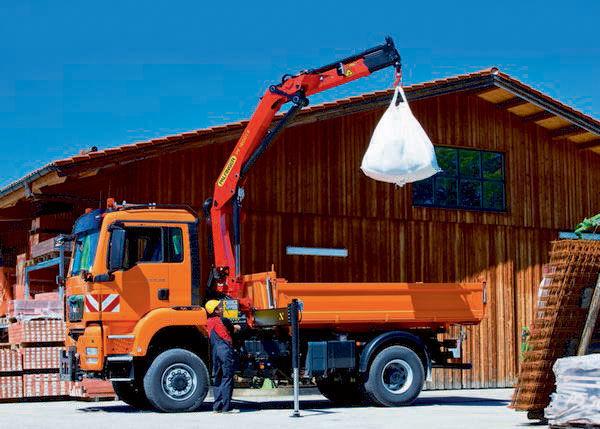 new PALFINGER PK 16001 Perfomance loader crane