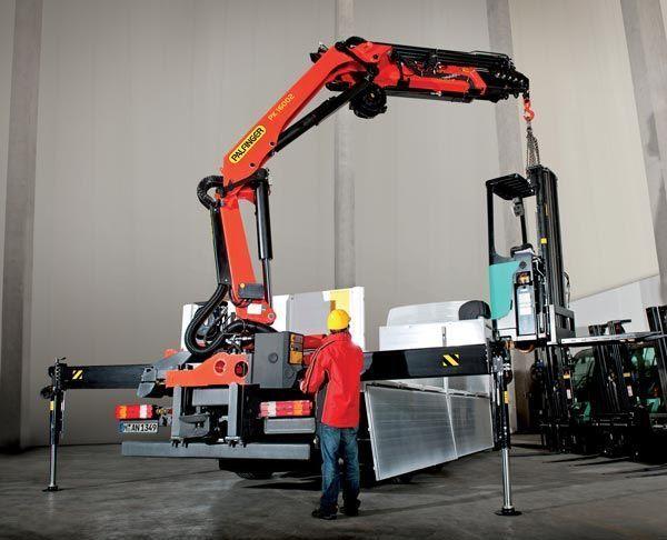 new PALFINGER PK 16002 High Perfomance loader crane