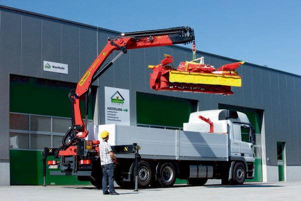 new PALFINGER PK 18001-EH High Perfomance loader crane