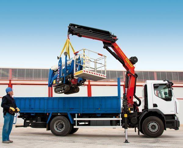 new PALFINGER PK 22002-EH High Perfomance loader crane