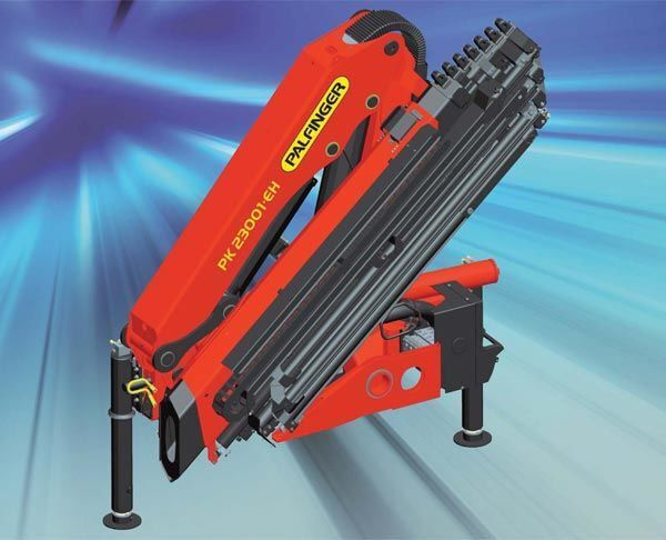 new PALFINGER PK 23001-EH High Perfomance loader crane