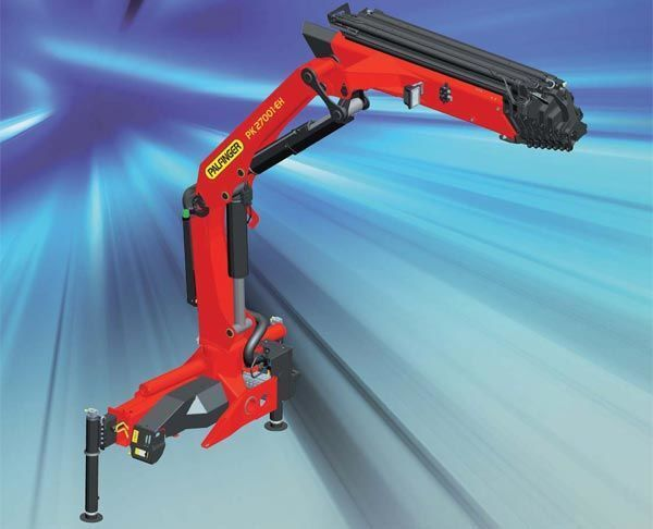 new PALFINGER PK 27001-EH High Perfomance loader crane
