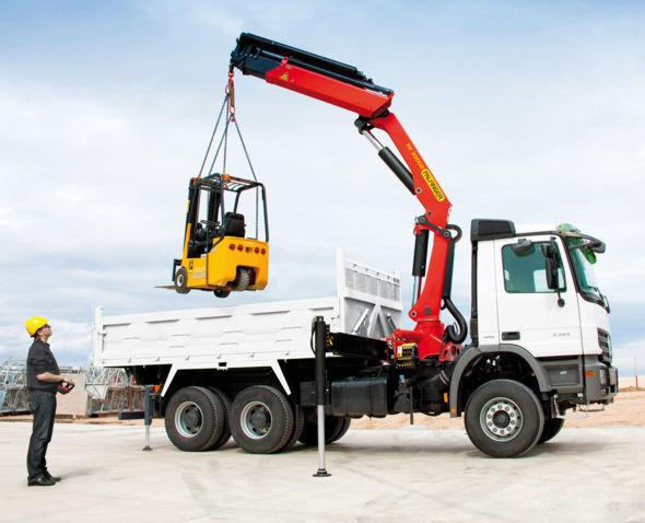 new PALFINGER PK 30002 High Perfomance loader crane
