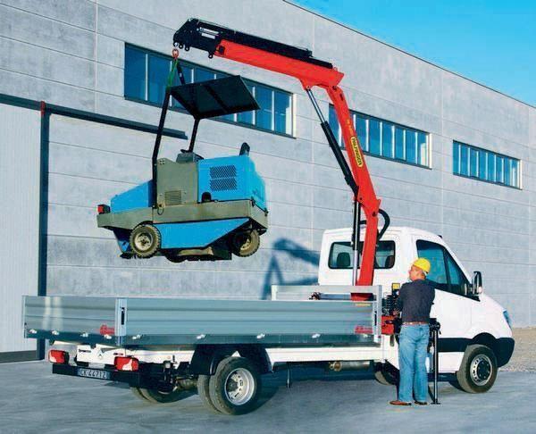 new PALFINGER PK 4200 Perfomance loader crane