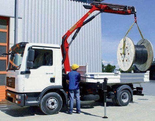 new PALFINGER PK 6501 High Performance loader crane