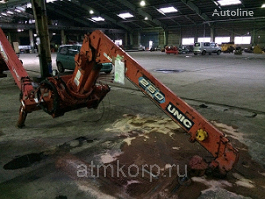 UNIC CRANE UR 253 loader crane