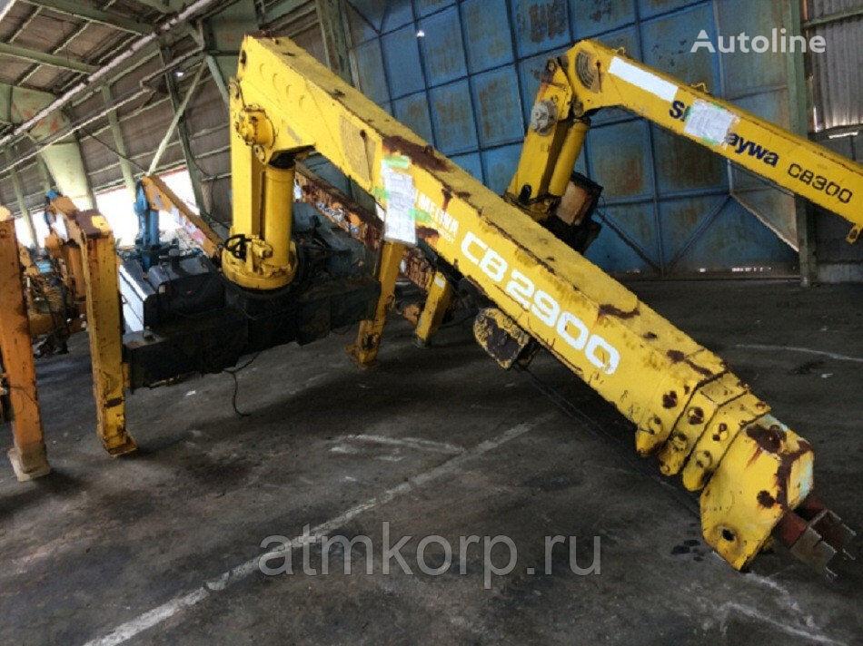 KMU SHINMAYWA CRANE  CB29 loader crane