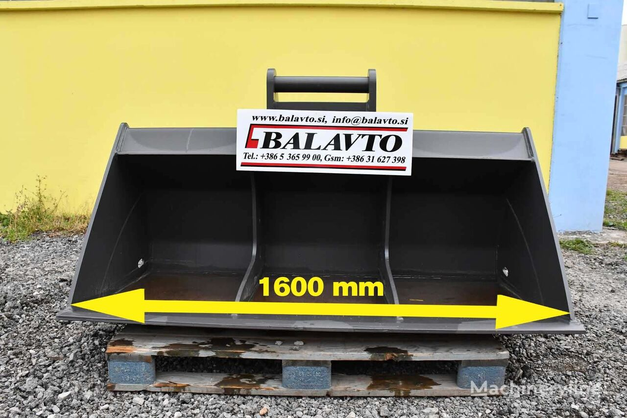 new BALAVTO Excavator ditch cleaning / slope bucket S61600 mm mini excavator bucket