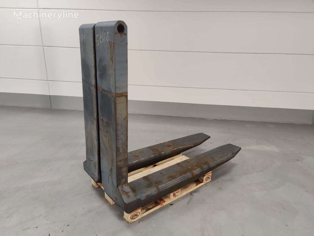 FORK Pin Type - Custom 28.000kg@1200mm // 1800x310x110mm pallet fork