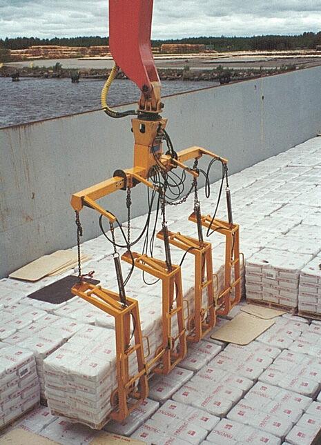 MANTSINEN 4 Pallet Lifting Beam pallet fork