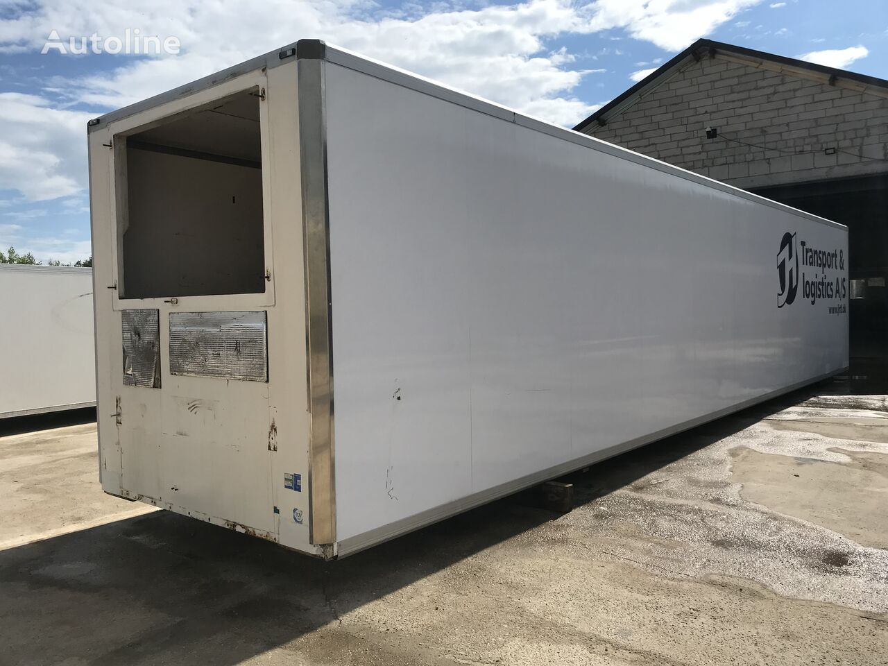 KRONE Sdr refrigerated truck body